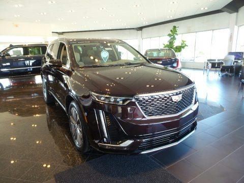 Garnet Metallic 2020 Cadillac XT6 Premium Luxury AWD
