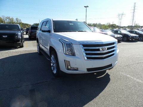 Crystal White Tricoat 2020 Cadillac Escalade Luxury 4WD