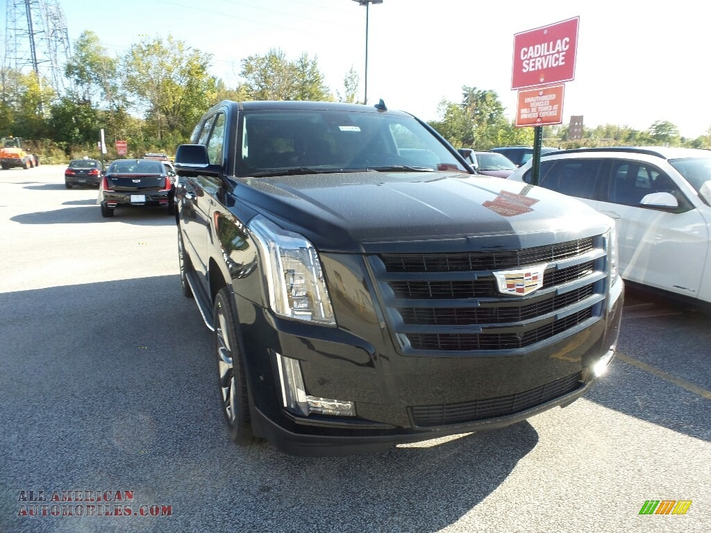 2020 Escalade Luxury 4WD - Black Raven / Jet Black photo #1