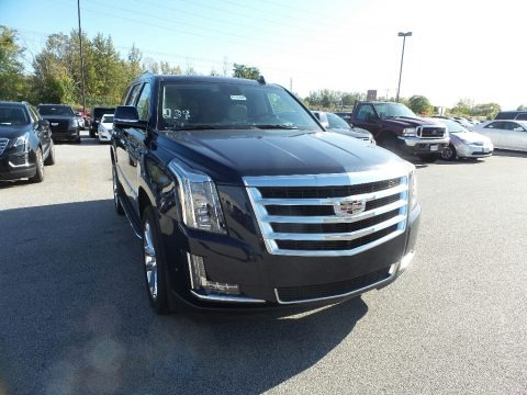 Dark Adriatic Blue Metallic 2020 Cadillac Escalade Luxury 4WD