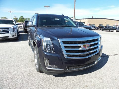 Dark Adriatic Blue Metallic 2020 Cadillac Escalade ESV Luxury 4WD