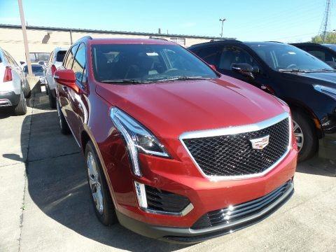 Red Horizon Tintcoat 2020 Cadillac XT5 Sport AWD
