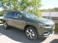 Jeep Cherokee Limited 4x4 Olive Green Pearl photo #2