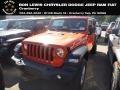 Jeep Wrangler Unlimited Sport 4x4 Punkn Metallic photo #1