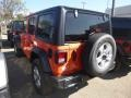 Jeep Wrangler Unlimited Sport 4x4 Punkn Metallic photo #3