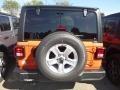 Jeep Wrangler Unlimited Sport 4x4 Punkn Metallic photo #4