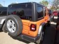 Jeep Wrangler Unlimited Sport 4x4 Punkn Metallic photo #5