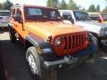 Jeep Wrangler Unlimited Sport 4x4 Punkn Metallic photo #6