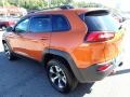 Jeep Cherokee Trailhawk 4x4 Mango Tango Pearl Coat photo #3