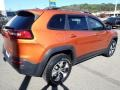Jeep Cherokee Trailhawk 4x4 Mango Tango Pearl Coat photo #6