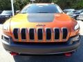 Jeep Cherokee Trailhawk 4x4 Mango Tango Pearl Coat photo #9