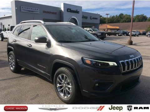 Granite Crystal Metallic 2020 Jeep Cherokee Latitude Plus 4x4