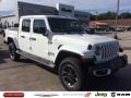 Jeep Gladiator Overland 4x4 Bright White photo #1