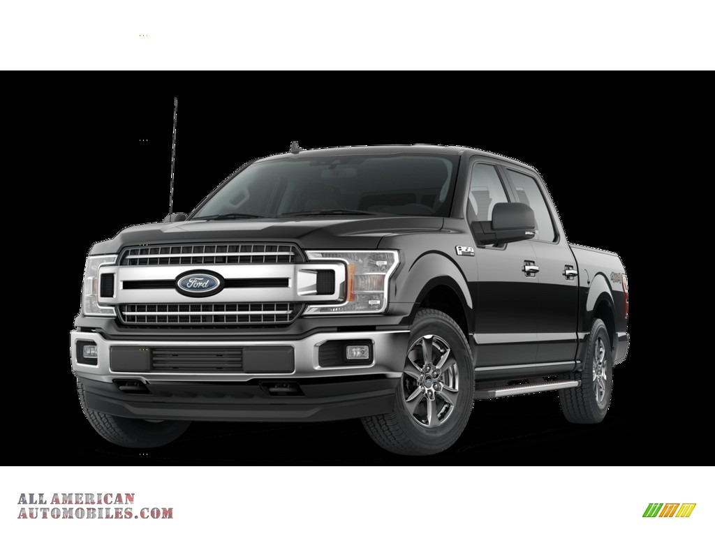 Agate Black / Earth Gray Ford F150 XLT SuperCrew 4x4