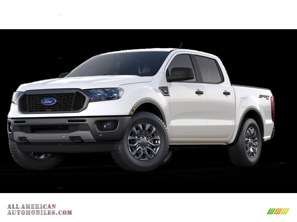 2019 Ranger XLT SuperCrew 4x4 - Oxford White / Ebony photo #1