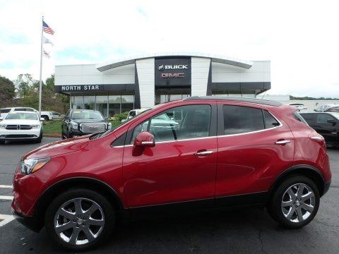 Winterberry Red Metallic 2017 Buick Encore Preferred II AWD
