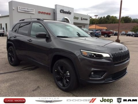 Granite Crystal Metallic 2020 Jeep Cherokee Altitude 4x4