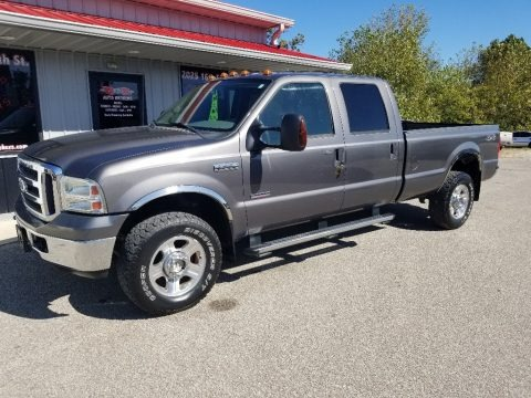 Dark Shadow Grey Metallic 2006 Ford F350 Super Duty Lariat Crew Cab 4x4