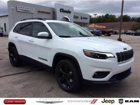 Bright White 2020 Jeep Cherokee Altitude 4x4