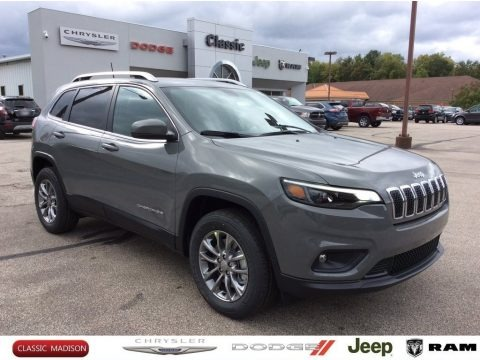 Sting-Gray 2020 Jeep Cherokee Latitude Plus 4x4