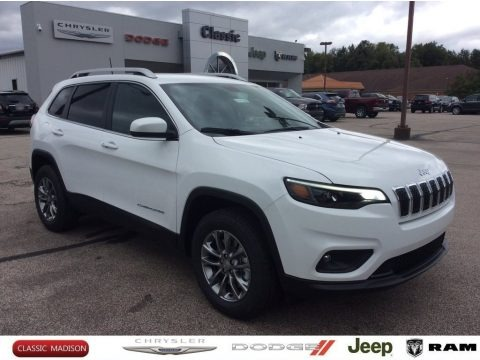 Bright White 2020 Jeep Cherokee Latitude Plus 4x4