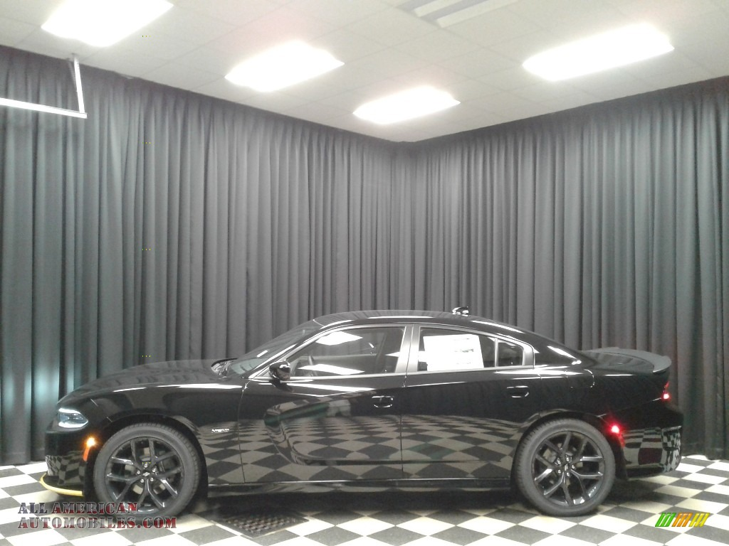 2019 Charger R/T - Pitch Black / Black photo #1