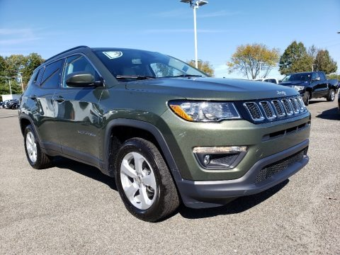 Olive Green Pearl 2020 Jeep Compass Latitude 4x4
