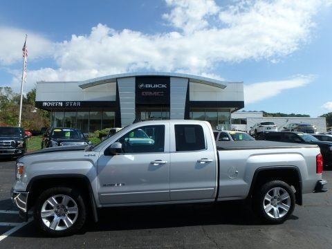 Quicksilver Metallic 2015 GMC Sierra 1500 SLE Double Cab 4x4