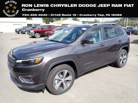 Granite Crystal Metallic 2020 Jeep Cherokee Limited 4x4