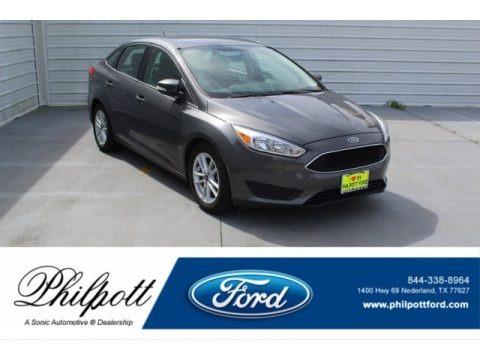 Stealth Gray 2016 Ford Focus SE Sedan