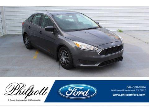 Magnetic 2016 Ford Focus S Sedan