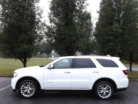 Bright White 2015 Dodge Durango Citadel AWD
