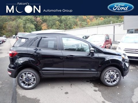 Shadow Black 2019 Ford EcoSport SES 4WD