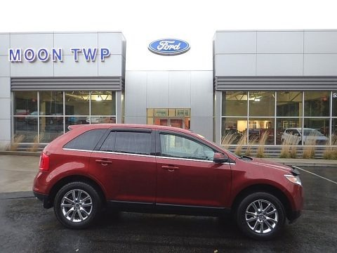 Sunset 2014 Ford Edge Limited
