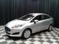 Ford Fiesta S Sedan Ingot Silver Metallic photo #2