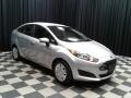 Ford Fiesta S Sedan Ingot Silver Metallic photo #4