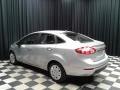 Ford Fiesta S Sedan Ingot Silver Metallic photo #8