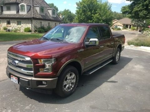 Ruby Red 2017 Ford F150 Lariat SuperCrew 4X4