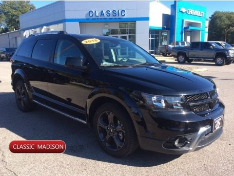 Pitch Black 2018 Dodge Journey Crossroad AWD