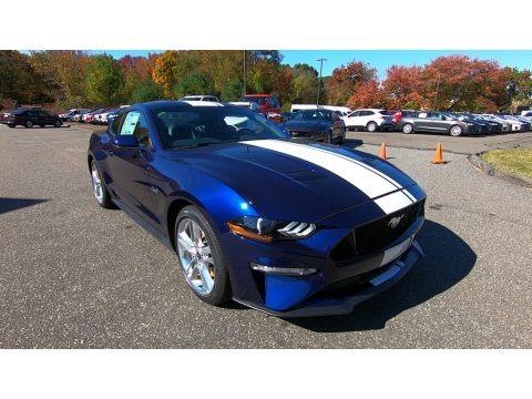 Kona Blue 2020 Ford Mustang GT Premium Fastback