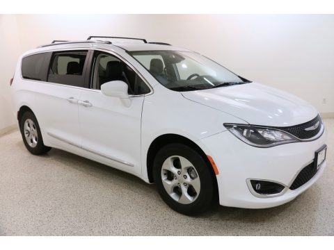 Bright White 2017 Chrysler Pacifica Touring L Plus