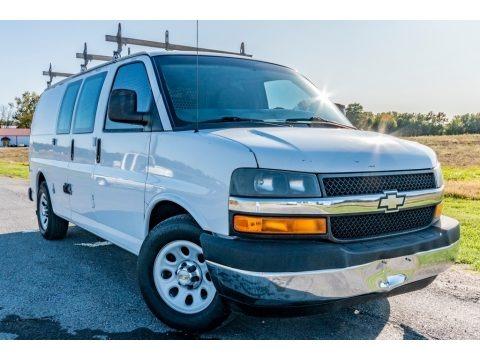 Summit White 2012 Chevrolet Express 1500 Cargo Van