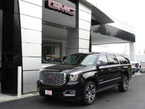 Onyx Black 2020 GMC Yukon XL Denali 4WD