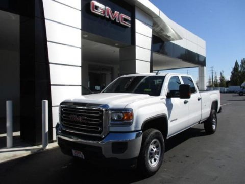 Summit White 2019 GMC Sierra 3500HD Crew Cab 4WD
