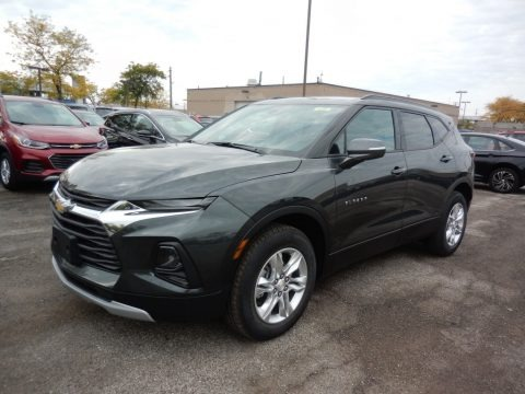 Nightfall Gray Metallic 2020 Chevrolet Blazer LT