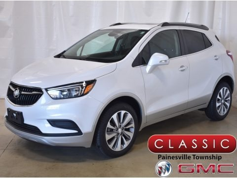 White Frost Tricoat 2019 Buick Encore Preferred AWD