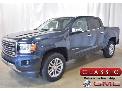 Dark Sky Metallic 2020 GMC Canyon SLT Crew Cab 4x4