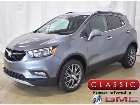 Satin Steel Metallic 2020 Buick Encore Sport Touring AWD