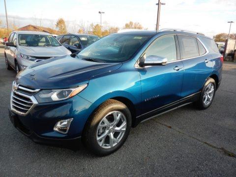 Pacific Blue Metallic 2020 Chevrolet Equinox Premier