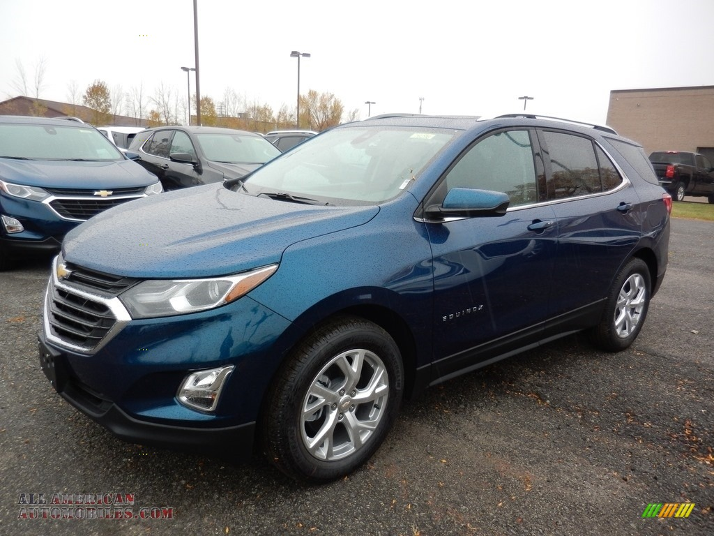 2020 Equinox LT - Pacific Blue Metallic / Ash Gray photo #1